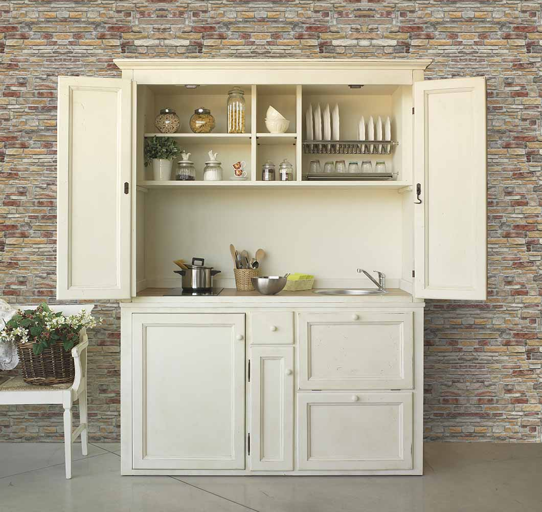 Mini cucine in muratura zc56 regardsdefemmes for Cucina in armadio